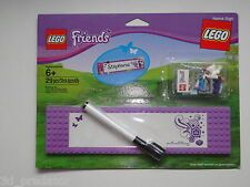 LEGO® Lego Friends - 850591 Tür Namensschild Door Name Sign New Sealed NEU & OVP