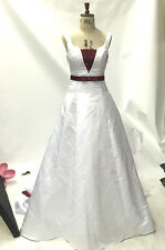 WD25 WHITE SIZE 8   wedding studio second hard display dress on sale