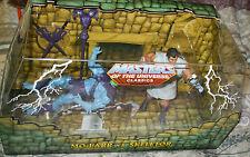 "2010 Mattel MOTU Classics SDCC Mo-Larr vs Skeletor 2pk of  Figure MIP 6"" Action"