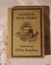 Otto Soyka Käufer der Ehre 1922