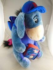 "Very Rare Eeyore Backpack 12"" with Lunch Tote Backpack & Bag Disney"