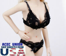 """1/6 Sexy Lace Lingeries Bra Panties Set For 12"""" Phicen Hot Toys Female Body USA"""