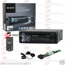 NEW SONY MEX-GS610BT CAR CD MP3 USB BLUETOOTH STEREO IPOD IPHONE ANDROID CONTROL