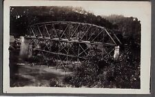 1918 RPPC FRANKLIN HARRISON LEBANON OHIO OREGONIA BRIDGE BUILDING CO. POSTCARD