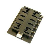 6-24v atp 12 veces fusible bloque caja de fusibles soporte de distribución nuevo 5-100a