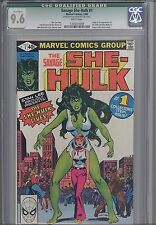 Savage She-Hulk #1  CGC 9.6  Marvel 1980 Comic Origin