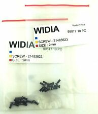 LOT OF 20 TORX SCREWS WIDIA M2X6mm SCREW FOR INDEXABLE INSERT