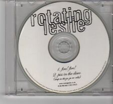 (FR819) Rotating Leslie, Fire! Fire! - 2006 DJ CD
