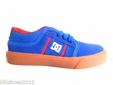 DC KIDS RD GRAND BLUE RED YOUTH SHOES SIZE 11.5