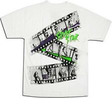 Silver Star Film Tee (L) White