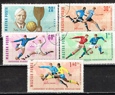 Hungary FIFA World Cup History stamps 1962
