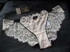 Ted Baker Limited pale pink lace Brazilian briefs,polyamide,12,BNWT