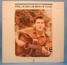 PHIL OCHS CHORDS OF FAME 2X LP 1976 ORIGINAL PROTEST FOLK GREAT COND! VG++/VG+!!