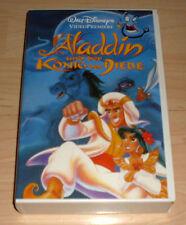 VHS - Aladdin und der König der Diebe - Walt Disney Zeichentrick - Videokassette