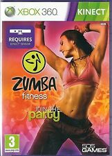 Xbox 360 Zumba Fitness Join the Party KINECT game only