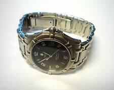 Authentic Men Concord Saratoga SL Automatic Charcoal Numeral Dial Wrist Watch