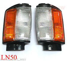 84-88 TOYOTA PICKUP 4x4 FRONT CORNER INDICATOR TURN LIGHT HILUX MK2 LN RN YN 85