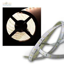(6,12€/m) SMD LED Lichtband 4,8m warmweiß 12V Stripe flex Lichtleiste Streifen