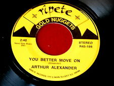 ARTHUR ALEXANDER~YOU BETTER MOVE ON~RARE BROWN WAX~NEAR MINT~~ NORTHERN SOUL 45