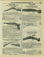 "1932 PAPER AD Lefever Shotgun Long Range Trap & Field Gun Essex Handy 8"" Barrel"