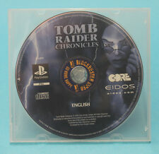 TOMB RAIDER CHRONICLES PS1 ☆☆☆AUSSIE SELLER☆☆☆ (PLAYSTATION) EX-RENTAL~DISC ONLY