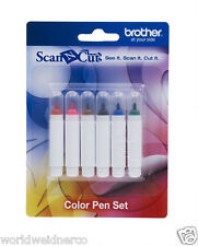 Brother ScanNCut Color Pen Set CAPEN1