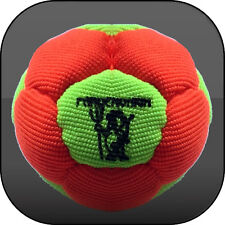 FOOTBAG VIRUS SYNTHETIC HEMP SAND FILLED 12 PANELS Hacky sack