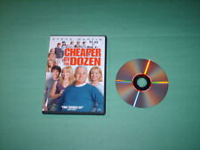 Cheaper by the Dozen (DVD, 2004, 2 Sided Disc, Widescreen & Full Frame Versions)