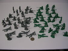 50 pieces German and American WW2 Toy Soldiers