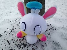 NEW Handmade Sonic Adventure Ghost Snow Bunny Chao Plush