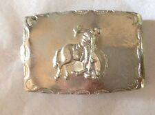 Buckin Bronco Belt Buckle American Vintage Classic Retro Country Western