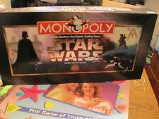 Monopoly Star Wars Classic Trilogy Edition COMPLETE MINTY