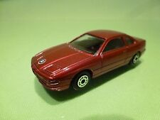 EDOCAR HOLLAND BMW 850i - METALLIC RED 1:60? - GOOD CONDITION