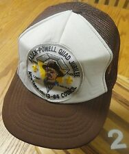 VTG BADEN-POWELL QUAD JUBILEE CAMP ARCOLA MONTANA BOY SCOUT 1984 SNAPBACK HAT