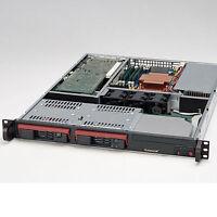 1U Hot-swap CSE-811T-300B • Opteron 148 2.26 GHz • 2GB RAM • no HDD