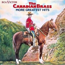 The Canadian Brass More Greatest Hits by Canadian Brass (CD, Oct-1990, RCA)