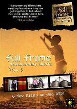 Full Frame Documentary Shorts Vol. 5 Six Films (DVD Movie) SEALED NEW (DV) 39-4