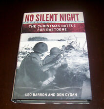 NO SILENT NIGHT Christmas Battle of the Bulge Bastogne Nazi U.S. Army WWII Book