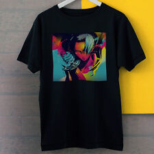 Samurai Champloo Jin Colorful Art Mugen Anime New Black Tees T-Shirt S-3XL