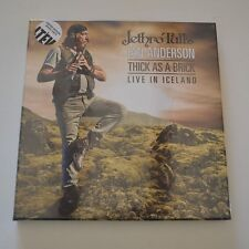JETHRO TULL'S IAN ANDERSON - THICK AS A BRICK LIVE IN ICELAND - BOX 3 LP COLORED