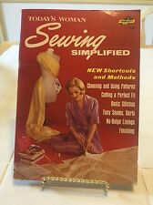 Today's Woman Sewing Simplified, 1965,A Fawcett Book #586