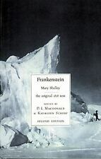 Literary Texts: Frankenstein or the Modern Prometheus : The 1818 Text by Kathlee