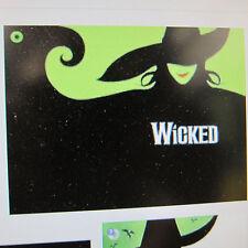 WickedOriginal Cast CD for Pianodisc QRS Pianomation Yamaha Disklavier