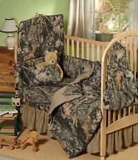 MOSSY OAK CAMOUFLAGE BABY CRIB BEDDING SHEET & PILLOW CASE SET - CAMO