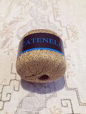Filati maglia lavori uncinetto gomitoli Lurex oro