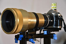Isco Cinelux Anamorphic 2x MC Cinemascope Lens Testd Samples Full Frame MFT m4/3