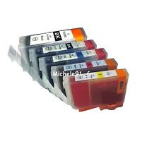 Pack 5 cartouche d'encre compatible PGI5 CLI8 pour imprimante Canon Pixma MP610