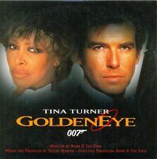 TINA TURNER - Golden eye 2TR CDS 1995 VOCAL James Bond song
