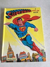 1979 Superman Pop Up Book - Used Condition