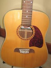 Oscar Schmidt Dreadnought OG312 12 String Acoustic Guitar  + chipboard case